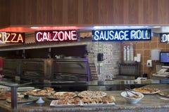 Место пиццы Стоковые Изображения RF