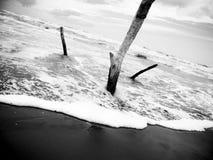 место пляжа Стоковое Изображение