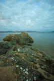 место пляжа Стоковое фото RF