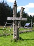 место подстенка названное деревянное Стоковые Изображения RF