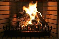 место пожара Стоковые Изображения RF