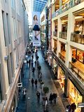 Место покупок Galleria Рига стоковая фотография