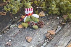 место праздника предпосылки обрамленное рождеством Стоковая Фотография RF