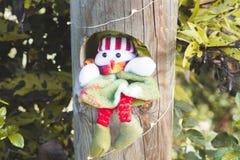 место праздника предпосылки обрамленное рождеством Стоковые Фотографии RF