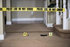 Место преступления стоковое изображение