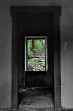 место природы для того чтобы осмотреть окно Стоковое Изображение