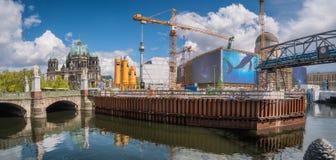 место проекта Германии развития конструкции центра berlin урбанское Стоковое Фото
