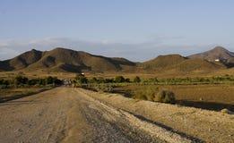 место пустыни Стоковые Изображения