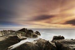 Место пляжа бечевника Стоковое Изображение RF