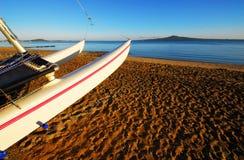 место раннего утра пляжа Стоковые Фотографии RF