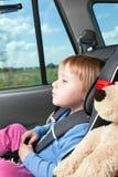 место ребенка автомобиля стоковое изображение rf