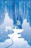 место рождества замока Стоковые Изображения RF