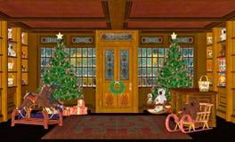 место рождества Стоковое Изображение RF