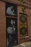 Место рождения рок-н-ролл стоковые фотографии rf