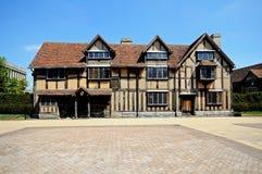 Место рождения Shakespeares, Стратфорд-на-Эвон Стоковое Изображение RF