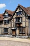 Место рождения Shakespeares, Стратфорд-на-Эвон Стоковое Фото