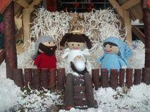место рождества jesus josef mary шпаргалки рождества christ Стоковая Фотография RF
