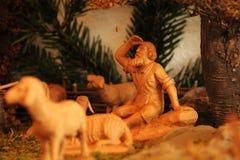 место рождества jesus josef mary шпаргалки рождества christ Стоковое Изображение