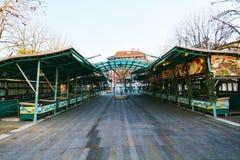 Место рыбного базара, в Тревизо Стоковые Изображения