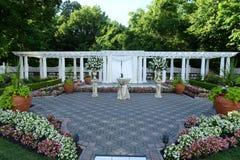 Место свадьбы в парке Стоковая Фотография