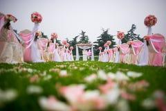 Место свадьбы стоковые изображения rf