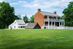 Место сдачи †дома Mclean «конца гражданской войны Стоковая Фотография RF