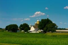 место сельскохозяйствення угодье сельское Стоковые Фотографии RF
