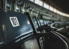 Место 101 стадиона стоковая фотография rf