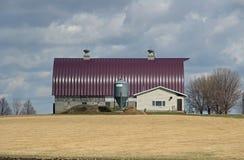Место фермы Минесоты Стоковые Изображения