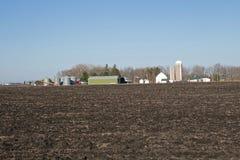 Место фермы Минесоты Стоковая Фотография RF