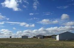 место фермы Стоковые Изображения