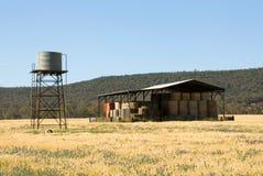 место фермы Стоковое Изображение RF