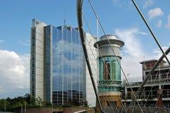 Место фестиваля Basingstoke и офисы, Хемпшир Стоковые Изображения RF