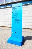 Место ФИФА снабжая центр билетами в самаре дома парка мола Стоковая Фотография
