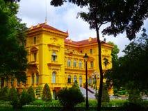 Место Хо Ши Мин президентское историческое стоковые фото