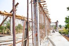 Место цемента строительной площадки Стоковая Фотография RF