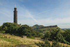 Место Эдинбург Arthurs Стоковое Изображение