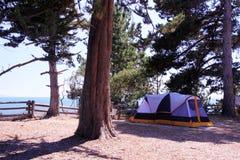 Место для лагеря стоковое изображение rf