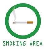 Место для курения Стоковые Изображения RF