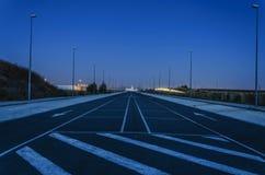 Место для парковки Стоковая Фотография