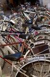 Место для стоянки велосипедов Стоковая Фотография