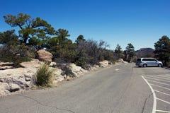 Место для стоянки пустыни Стоковое Изображение