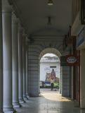 Место Connaught, Дели, Индия Стоковые Фотографии RF