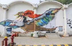 Место Connaught искусства улицы, Дели Стоковое Фото