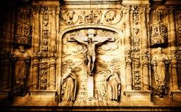 место crucifixion стоковое изображение rf