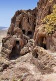 Место Cuatro Puertas археологическое в Gran Canaria Стоковая Фотография RF