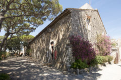 Место de Ла Castre в Канн, Франции стоковые фотографии rf