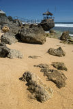 Место Idylic на пляже Стоковое фото RF