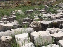 Место Lycian Tlos стоковое фото