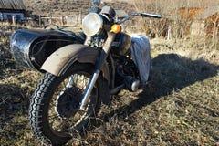 место motocycle приятеля старое Стоковое фото RF